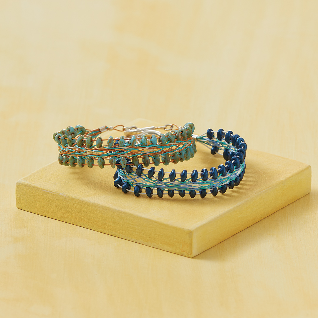 Trust In Your Path kumihimo bracelet by Kristen Fagan