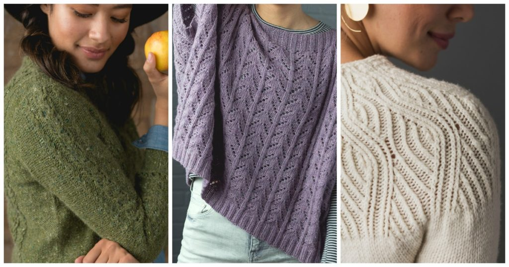 These are the most popular sweater knitting patterns of Interweave's 2019 releases.