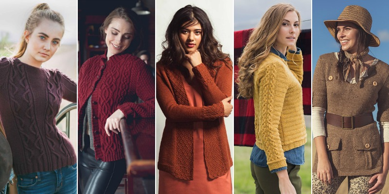 A Rainbow of Fall Sweater Knitting Patterns to Savor