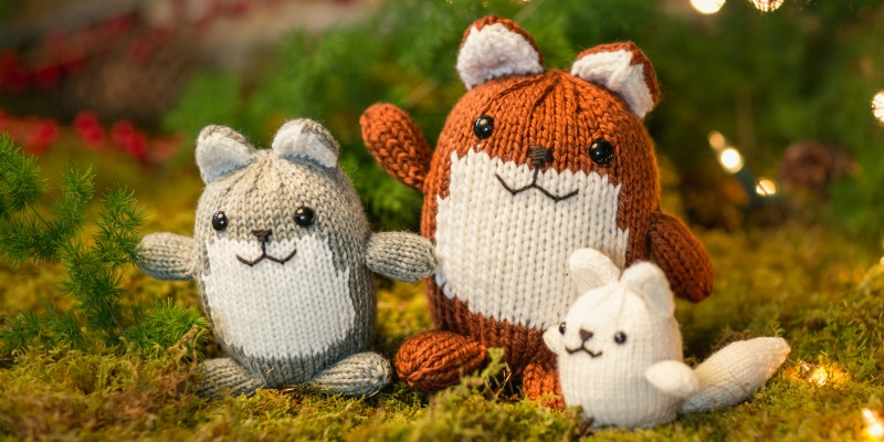 Pattern of the Week: The Fantastic Fox Family