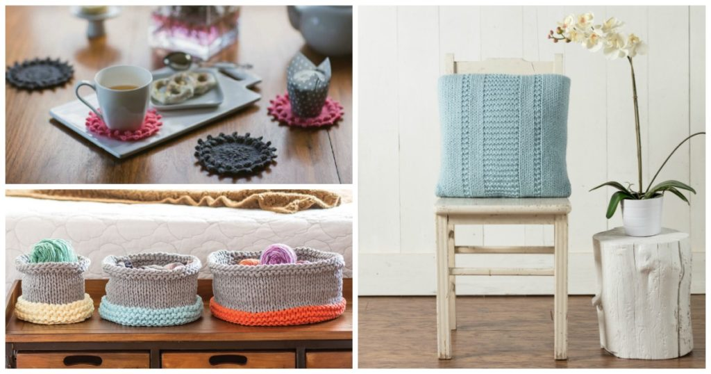 These farmhouse decor knitting patterns definitely have a place in your home.