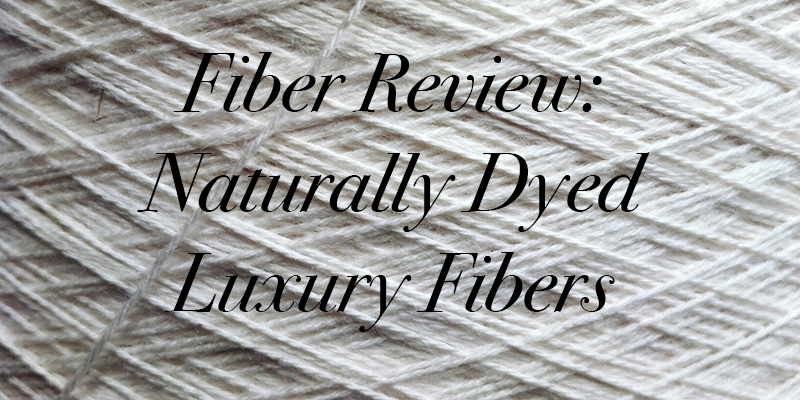 Earth Day, Hooray: Naturally Dyed Luxury Fibers
