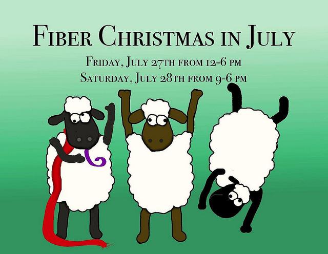 Fiber Christmas in July