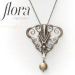 <em>Woven in Wire</em> Jewelry: Lorelei Pendant