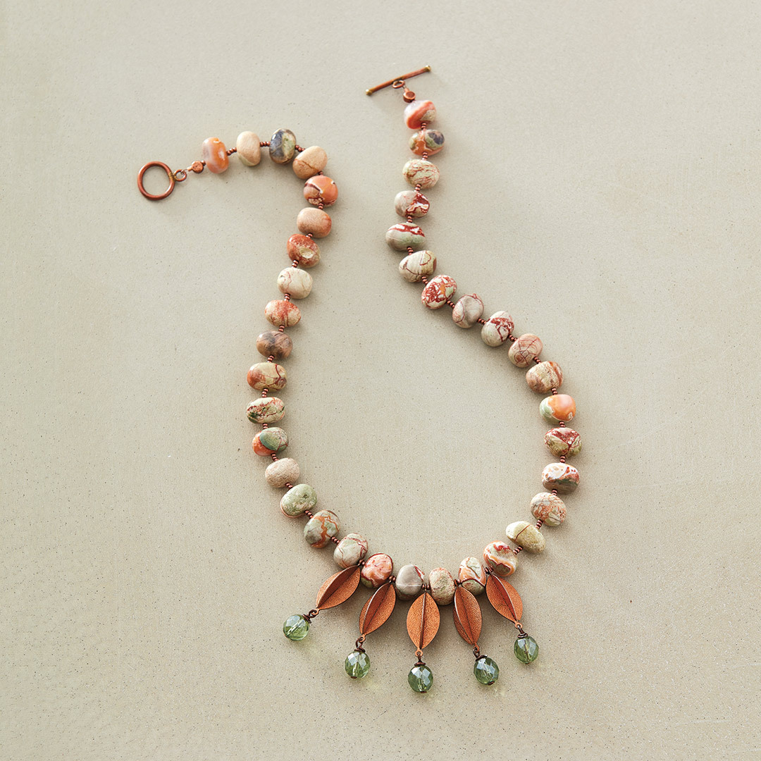 Sonoran Desert Necklace by Debra Floros