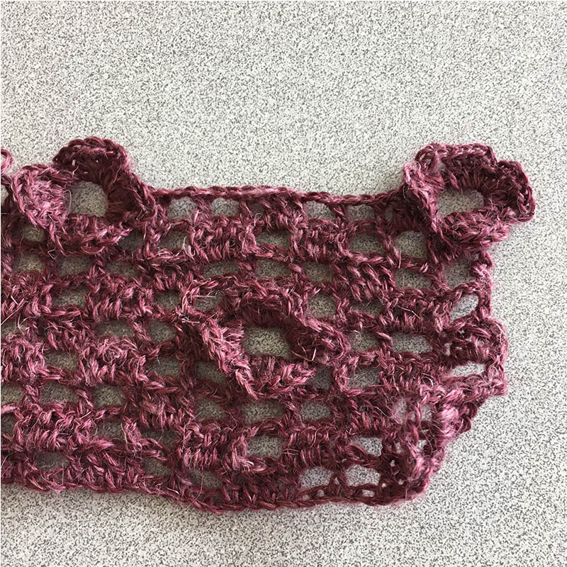 How to Create the 3-D Crochet Flowers in the Roseate Shrug