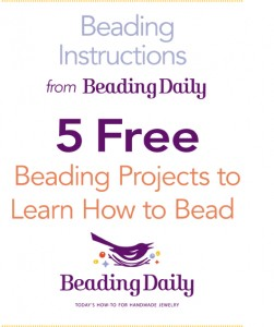 Learn how to bead like a pro with this FREE eBook on beading for beginners.
