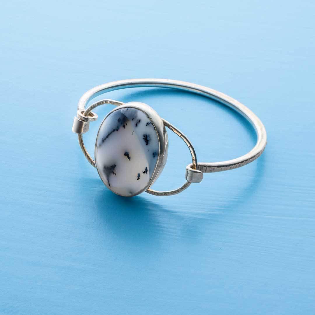 Cabochon bracelet by Layne Freedline