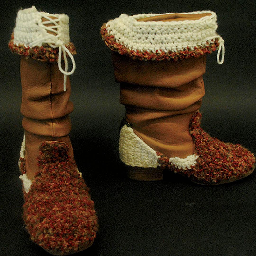 freestyle crochet boot