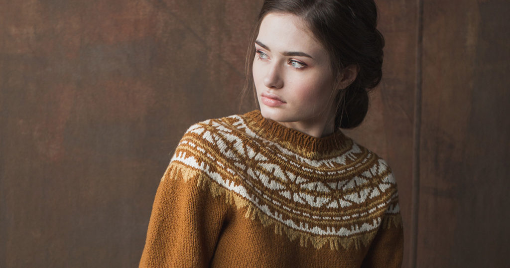 <em>knit.wear</em> Fall/Winter 2018: Frosted Foliage Pullover