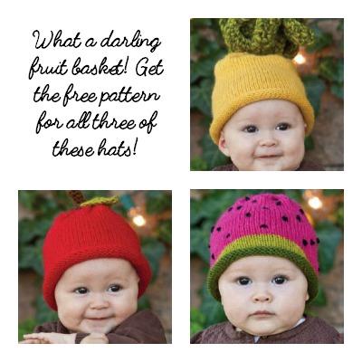 Fruit basket Hats
