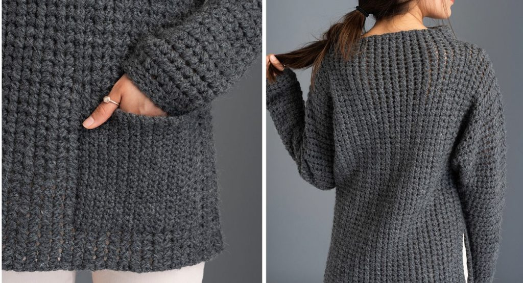 Crochet Pattern of the Week: Fullerene Pullover from <i>The Crochetist</i>