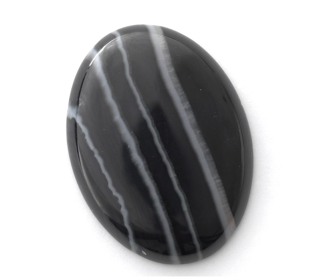 onyx gemstone cabochon