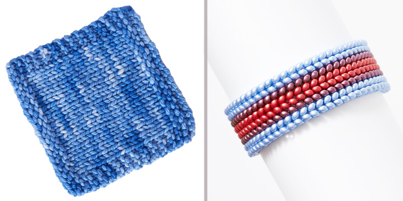 Eso Cuff kit a perfect beading project and gift for giving.