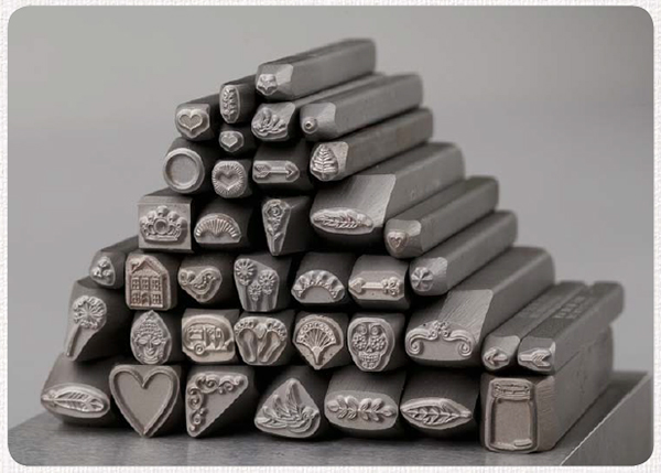 Metal stamps and jewelry making