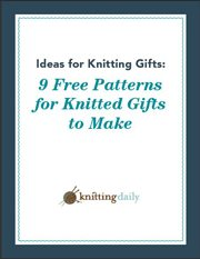 You'll love these ideas for knitting gifts in this FREE eBook.