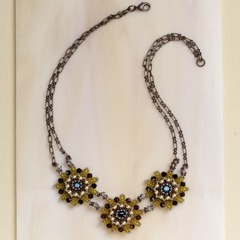 Artistic Creativity: 9 Genius Tips for Getting Out of a Creative Rut. Fancy Flora Necklace by Laina Goodman