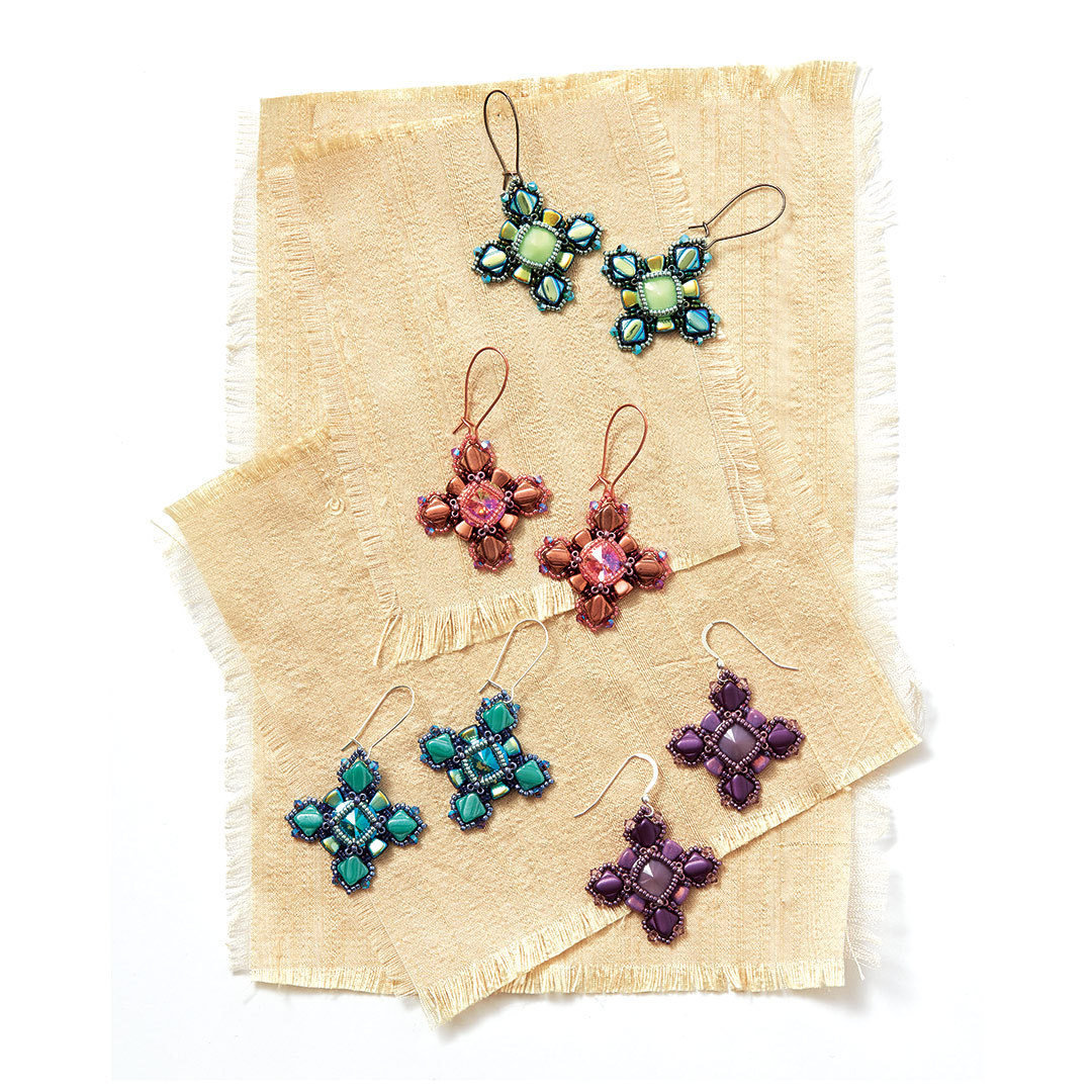 Sugar Coated Earrings by Laura Graham
