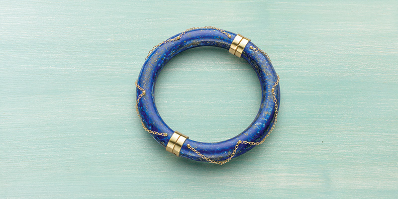 It's All on the Wrist Swivel-Hinged Magnetic Bangle Bracelet