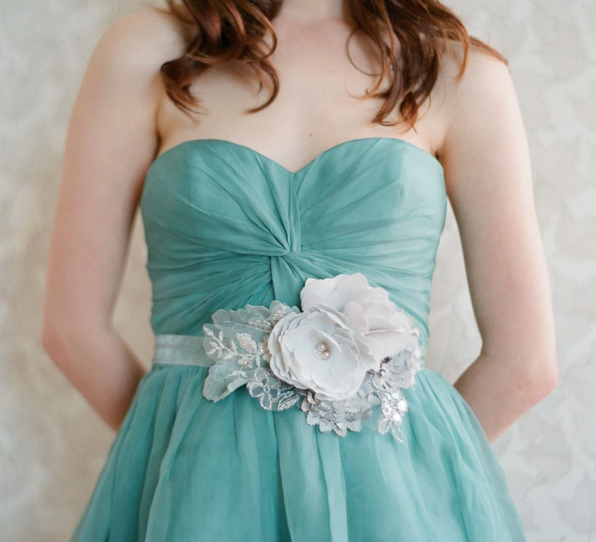 special occasion and wedding jewelry and accessories - belt from Adornments by Myra Callan