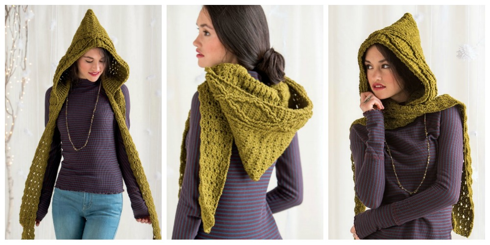 Don T Be Snood Y Why Hooded Scarves Are Still Cool In 2017 Interweave
