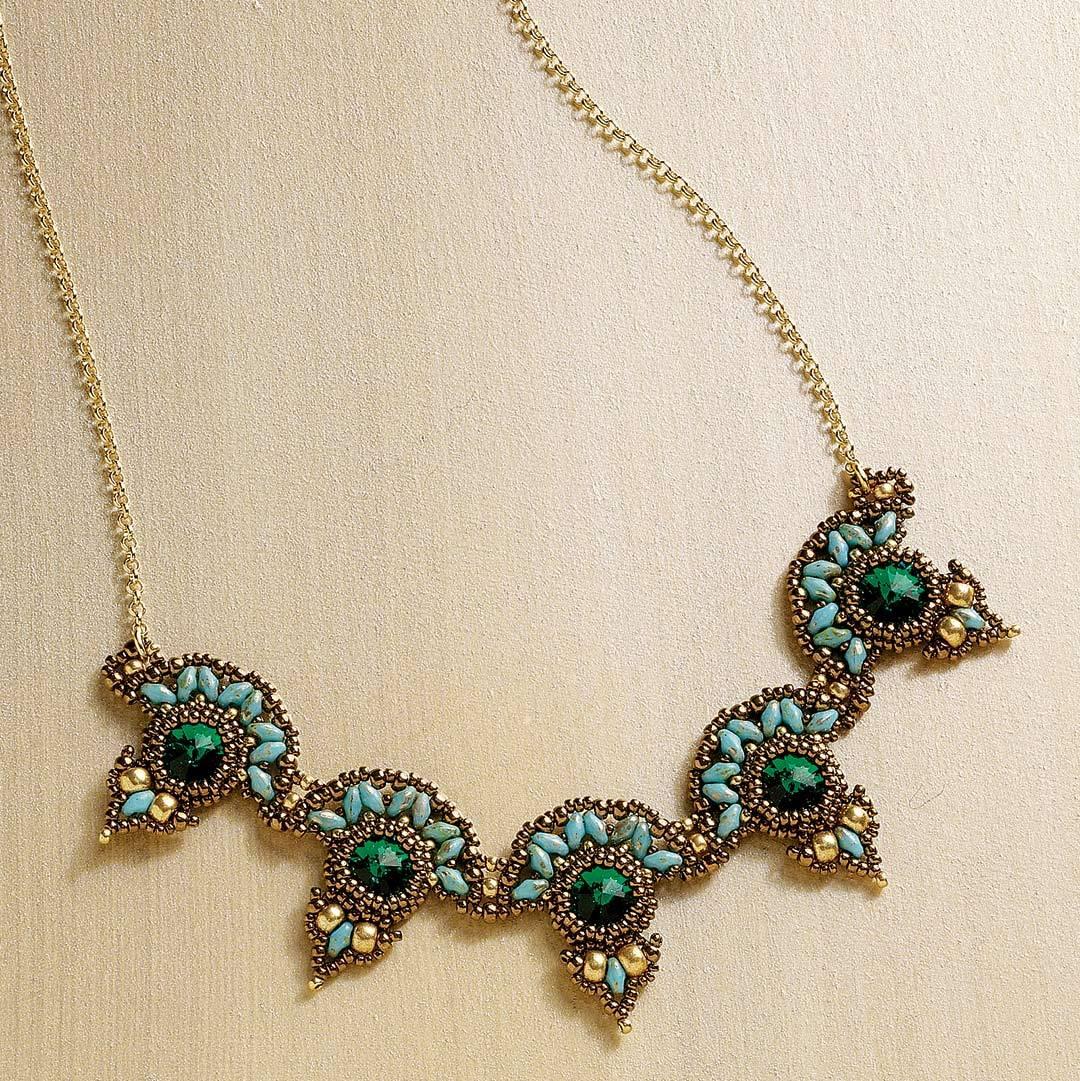 Smadar Grossman's Emerald City Necklace
