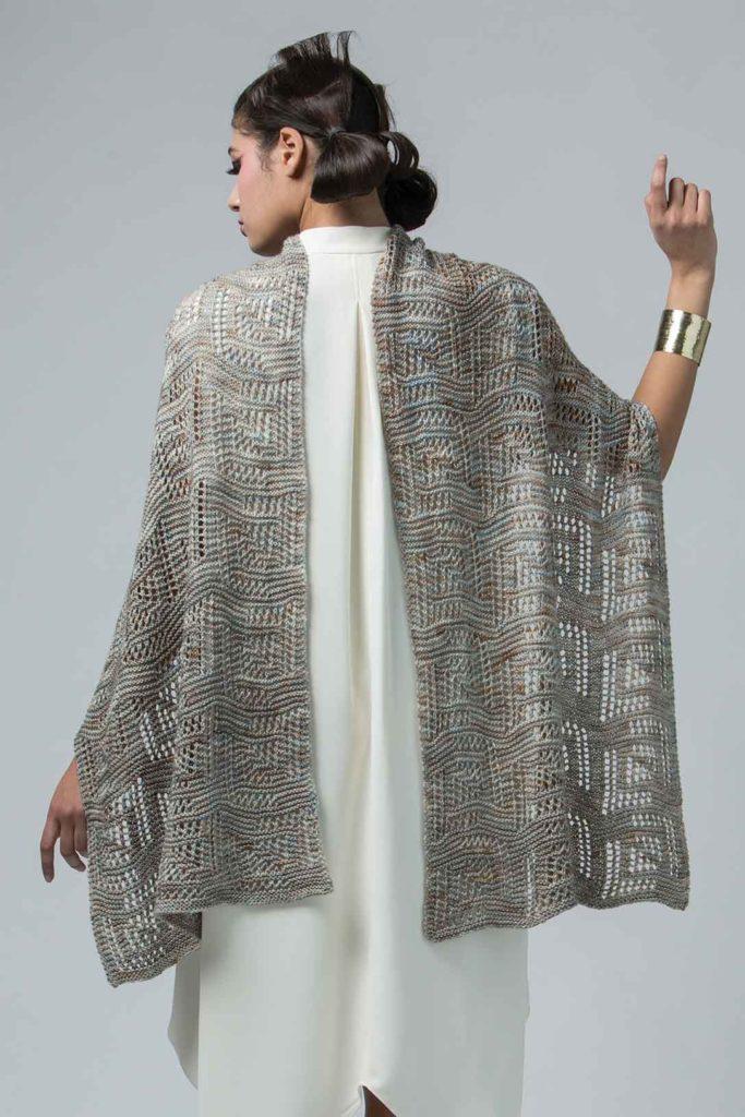 knit spring shawls