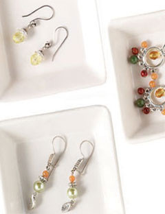 beaded holiday jewelry gifts quick easy earrings