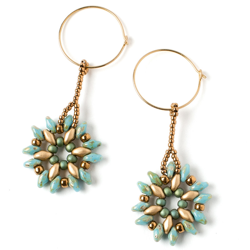 Artistic Creativity: 9 Genius Tips for Getting Out of a Creative Rut. Floret Earrings by Tina Hauer