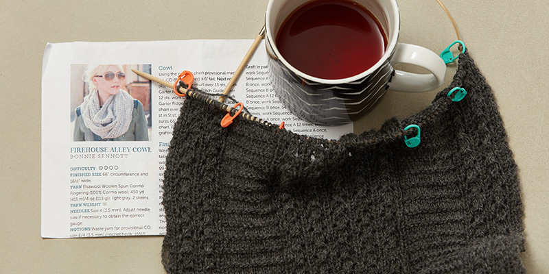 WIP Wednesday: Sarah's Firehouse Alley Cowl