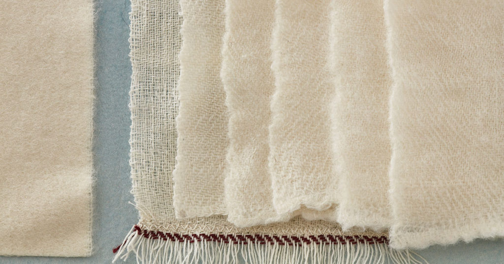 Re-Creating 18th-Century Weaving: Fulling Cloth and Shearing Swatches