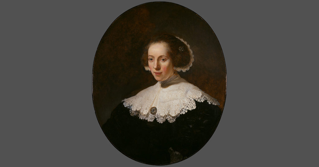 This Week in History: Rembrandt and Bobbin Lace