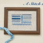 A Stitch in Time: Herringbone Stitch