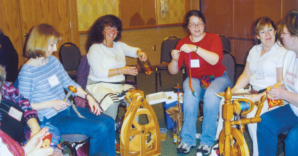 The Life-Changing Magic of Learning to Spin Yarn