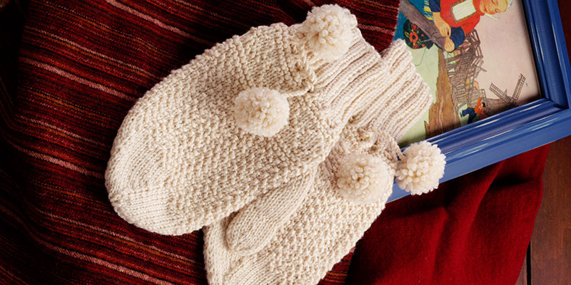 Discover Knitted Mittens and Socks from Around the World from <em>PieceWork</em>