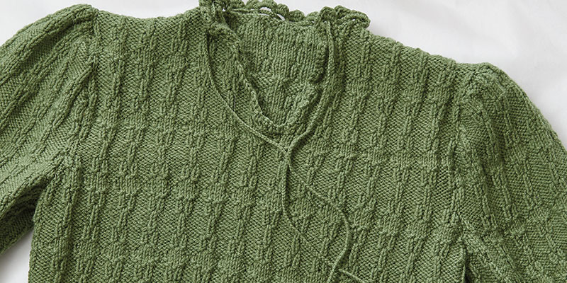 The Knitted Green Sweater Project: A Holocaust Survival Story