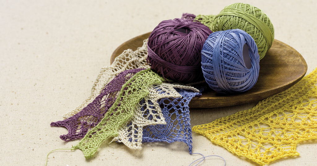 A Lace Revival: 25 Vintage Knitted Edgings