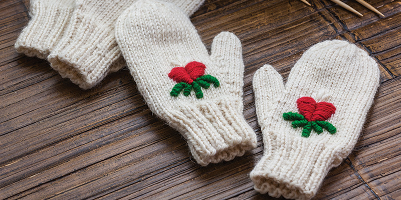 Giving the Gift of Needlework and Literature: <em>The Mitten</em> by Jan Brett