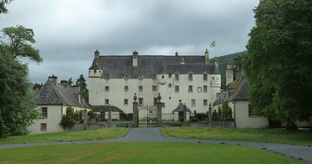 Postcard from Scotland: Traquair House