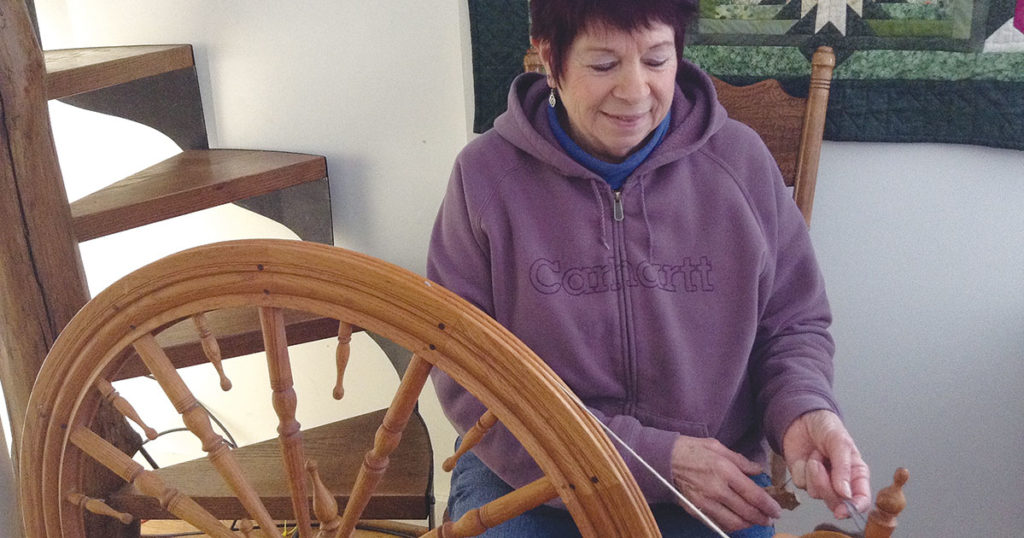 I Am a Spinner: Pat Maley, Handspinning Teacher and Ham Radio Operator
