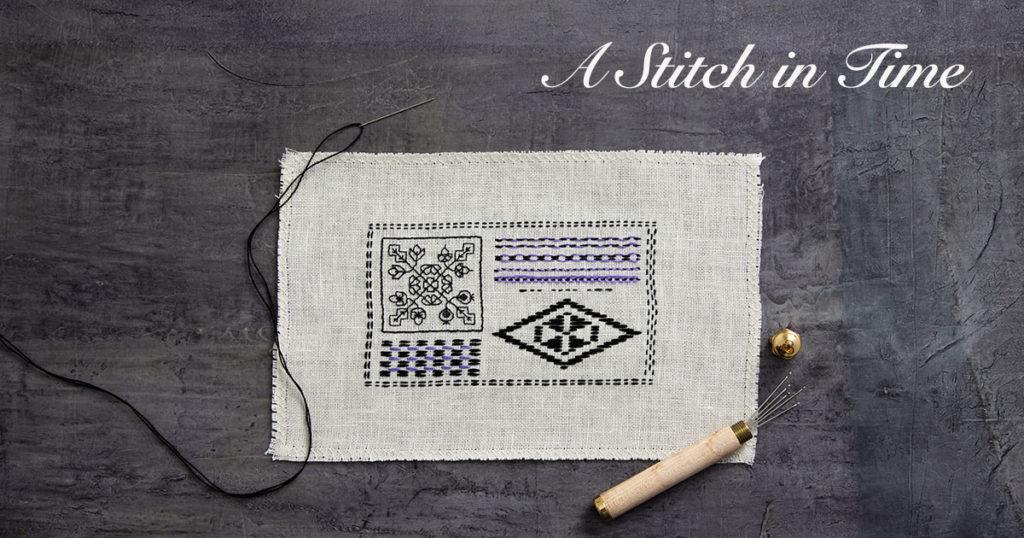 A Stitch in Time: Running Stitch