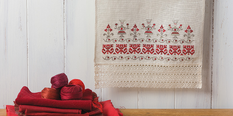 Passed Down from Generation to Generation: A Grandmother's Russian Embroidery