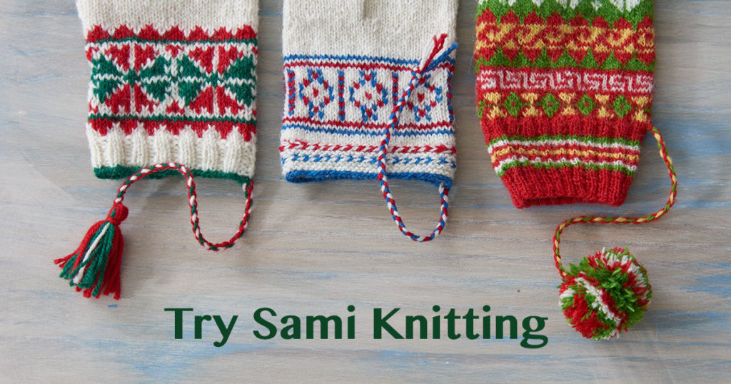 Discover Sami Knitting: Jouni and His Mittens