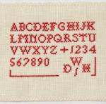 A Stitch in Time: Marking Stitch