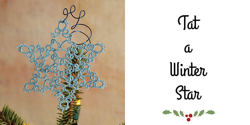 You Need to Try Tatting: Tat a Winter Star