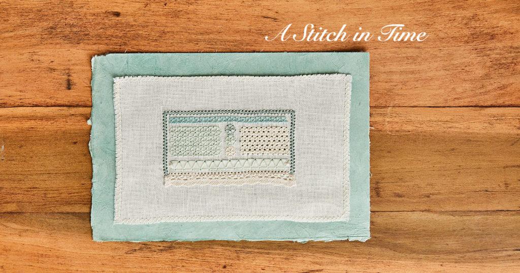 Three sided stitch