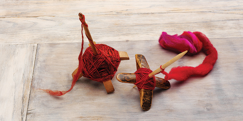 How to Spin on a Turkish Spindle with Judith MacKenzie