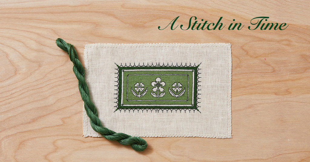 A Stitch in Time: Two-Sided Italian Cross-Stitch