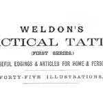 <em>Weldon's</em> Double Rose-Leaf Pattern