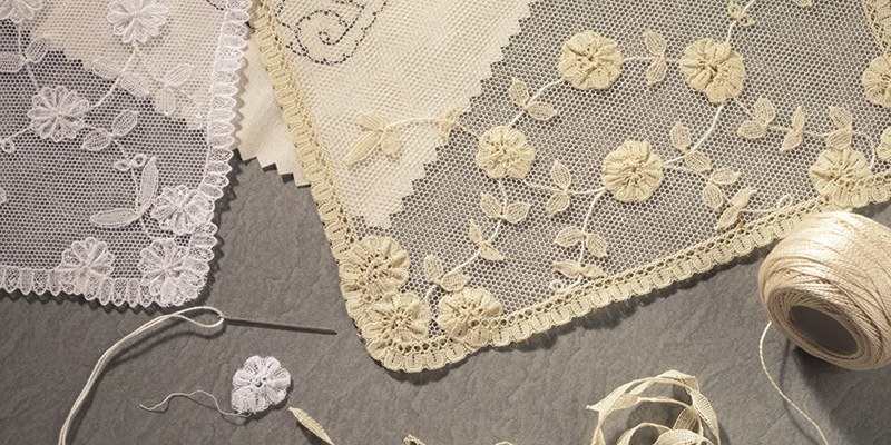 A Victorian Lace Square to Appliqué and Embroider